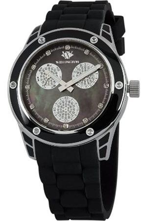 Daniel Wellington WN506-122A - Reloj analógico de Cuarzo para Mujer con Correa de Silicona