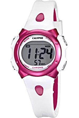 Calypso Girl 's Reloj Digital con Pantalla LCD Pantalla Digital Dial y Correa de plástico k5609/3