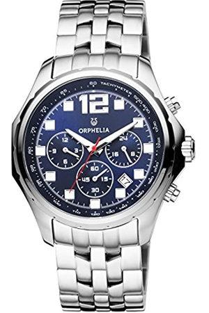 ORPHELIA Reloj Cronógrafo para Hombre de Cuarzo con Correa en Acero Inoxidable OR82700