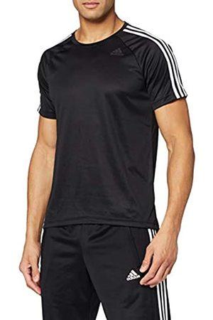 adidas D2M tee 3S Camiseta, Hombre