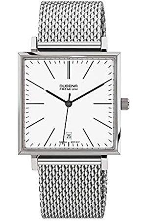 DUGENA Premium - Reloj analógico de Cuarzo para Hombre con Correa de Acero Inoxidable