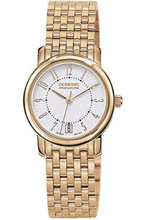 DUGENA Premium - Reloj analógico de Cuarzo para Mujer con Correa de Acero Inoxidable