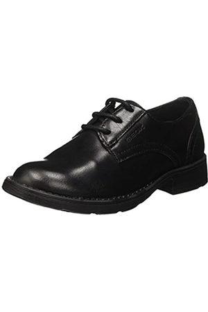 Geox Jr Sofia J, Zapatos de Cordones Derby para Niñas, (Black)