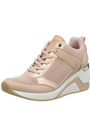 Skechers Million Air UP There, Zapatillas para Mujer, (Lt.Pink Duraleather/Mesh/Leather/Rosegold T LTPK)