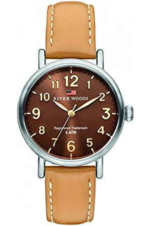 River Woods Mujer Relojes - Reloj Analógico para Mujer de Cuarzo con Correa en Cuero RW340001