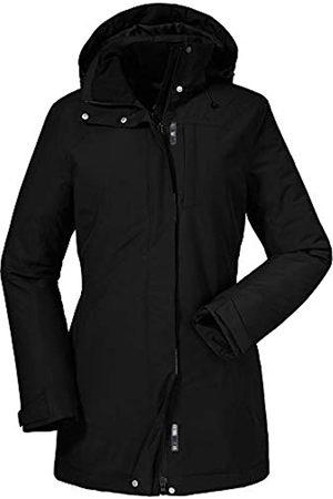 Schöffel Insulated Jacket Portillo, cálido, Impermeable, Cortavientos y Transpirable Parka de Invierno, Chaqueta cálida, hasta la Rodilla para Mujer, otoño/Invierno, Mujer