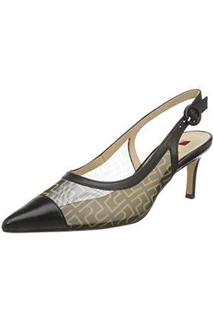 Högl Agate, Zapatos con Tira de Tobillo para Mujer, (Schwarz 0100)