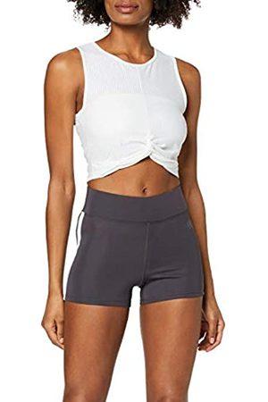 AURIQUE Marca Amazon - Shorts de Deporte con Banda Lateral Mujer, 44