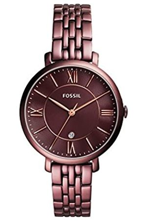Fossil Reloj analógico para Mujer de Cuarzo con Correa en Acero Inoxidable ES4100