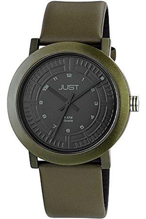 Just Watches 48-S9627-DGR - Reloj de Pulsera Hombre, Piel