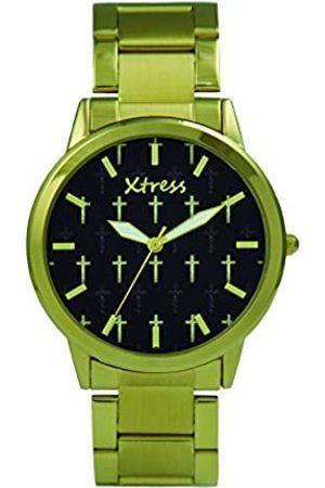 XTRESS RelojAnalógicoparaHombredeCuarzoconCorreaenAceroInoxidableXPA1033-01