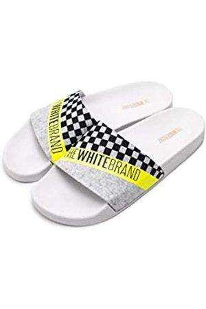 The White Brand TheWhiteBrand, Sandalias con Punta Abierta Unisex niño, (Neon Yellow Neon Yellow)
