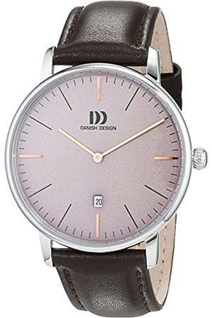 Danish Design Reloj Analogico para Hombre de Cuarzo con Correa en Cuero IQ18Q1175