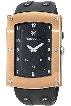 Rebecca Reloj Análogo clásico para Hombre de Cuarzo con Correa en Caucho AMEOBB0S
