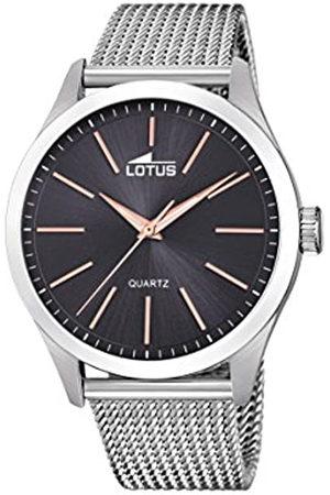 Lotus Reloj Análogo clásico para Hombre de Cuarzo con Correa en Acero Inoxidable 18570/4