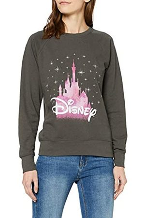 Disney Castle, Sudadera Mujer, Grey (Light Graphite)