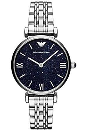Emporio Armani Reloj Analogico para Mujer de Cuarzo con Correa en Acero Inoxidable AR11091