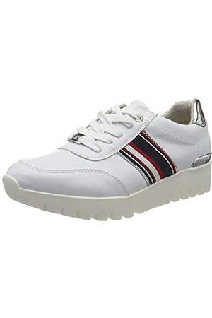TOM TAILOR 8093707, Zapatillas para Mujer, (White 00002)