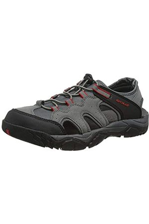 Gola Arizona, Sandalias de Senderismo para Hombre, (Grey/Black/Red Gx)