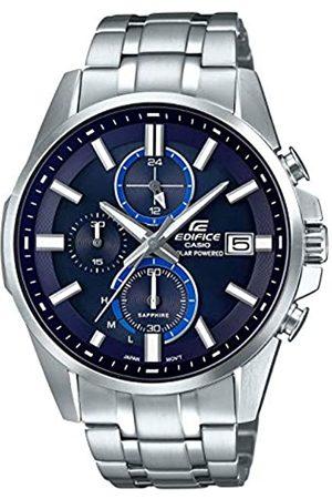 Casio Reloj Cronógrafo para Hombre de Cuarzo con Correa en Acero Inoxidable EFB-560SBD-2AVUER