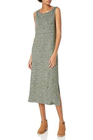 Daily Ritual Cozy Knit Vestido de Columna sin Mangas con Cuello de Bateau Dresses