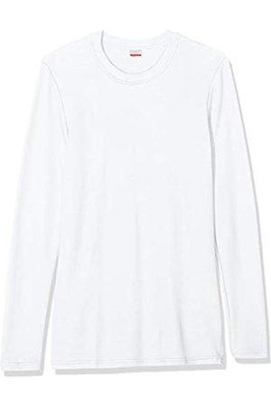 Damart Tee Shirt Manches Longues Camiseta térmica, Blanc 38767/01010/