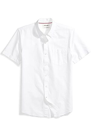 Goodthreads Slim-Fit Short-Sleeve Solid Oxford Shirt w/Pocket button-down-shirts