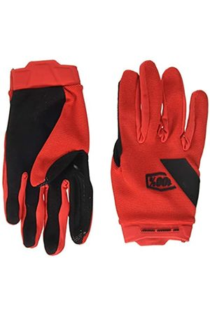 100 Percent RIDECAMP Glove Red-LG Guantes para ocasión Especial