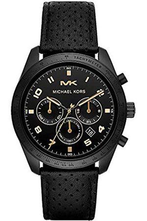 Michael Kors Reloj Cronógrafo para Hombre de Cuarzo con Correa en Cuero MK8705