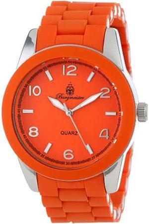 Burgmeister BM902-190D - Reloj analógico de Cuarzo para Hombre con Correa de Silicona