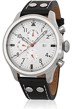 Burgmeister Reloj Hombre de Analogico con Correa en Cuero BM227-112