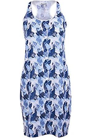 Supernatural W Essential Racer Dress Printed Merino Vestido, Mujer, SNW004807925
