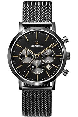 ORPHELIA Reloj Cronógrafo para Hombre de Cuarzo con Correa en Acero Inoxidable OR82801
