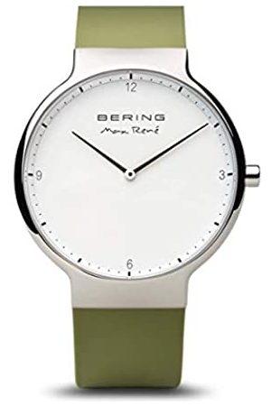Bering RelojAnalogicoparaMujerdeCuarzoconCorreaenSilicona15540-800