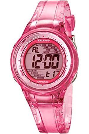 Calypso – Reloj Digital de Mujer con Esfera Pantalla Digital y Correa de plástico K5688/2