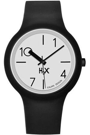 Haurex Reloj Analógico para Hombre de Cuarzo con Correa en Caucho SN390UNS