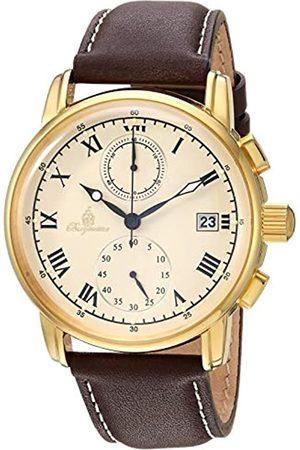 Burgmeister Reloj Unisex de Analogico con Correa en Piel BM334-295