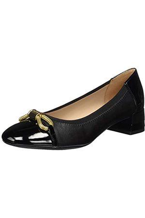 Geox D Chloo Mid A, Zapatos de Tacón para Mujer, (Black C9999)