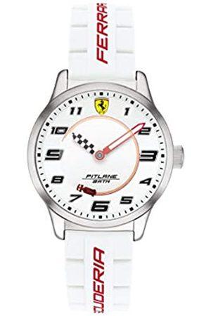 Scuderia Ferrari Reloj Analógico para Niños de Cuarzo con Correa en Silicona 0860014