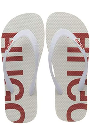 HUGO BOSS Onfire_Thng_rblg, Zuecos para Mujer, (Open White 121)