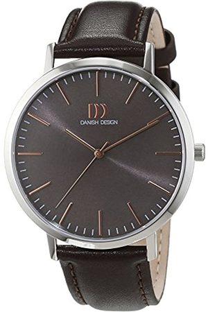 Danish Design Hombre Relojes - Diseño danés eysse-Reloj analógico de Cuarzo de Cuero 3314516