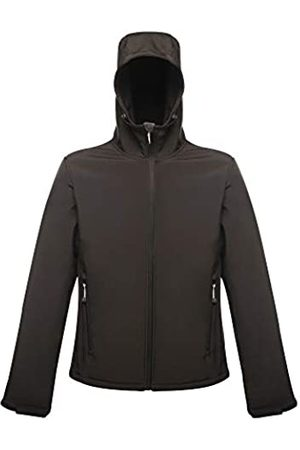 Regatta Arley II Hooded Softshell Chaqueta, (All Black)