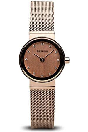 Bering Reloj Analógico para Mujer de Cuarzo con Correa en Acero Inoxidable 10122-366
