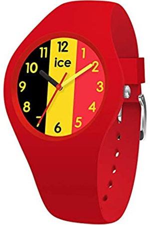Ice-Watch ICE world Ola Belgium - Reloj rosso para Mujer con Correa de silicona - 015737 (Small)