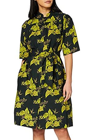 Scotch&Soda Printed Crispy Cotton Dress with Tie Vestido