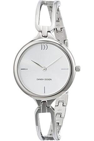 Danish Design Reloj Cuarzo para Mujer con Plata Analogico Y Plata Acero Inoxidable 3324585
