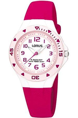 Lorus RelojAnalogicoparaniñasdeCuarzoconCorreaenSiliconaR2339DX9