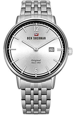Ben Sherman Reloj Análogo clásico para Hombre de Cuarzo con Correa en Acero Inoxidable WBS101SM