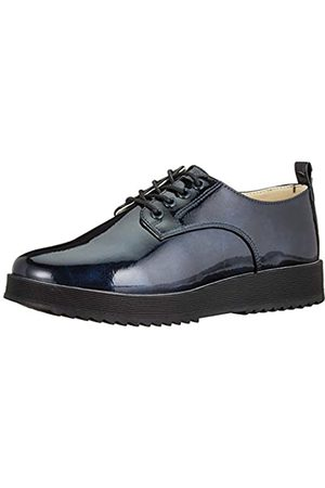Beppi 2166420, Zapatos de Cordones Brogue para Niñas, Marinho
