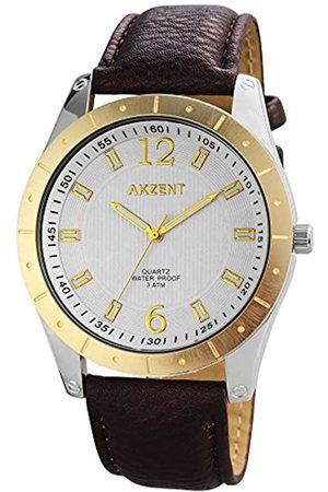 Akzent SS7711100023 - Reloj de Pulsera Hombre, Varios Materiales